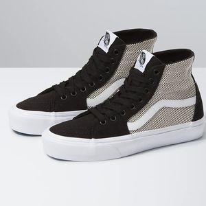 Vans Sk8-Hi Tapered Shoes Women's Black And White